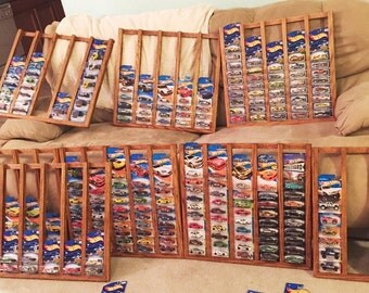 """Hot Wheels Rack for Unopened 1/64"""" Die-Cast Cars (FREE SHIPPING)"""