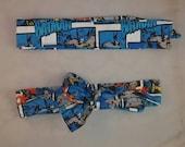 Batman comic strip fabric headband