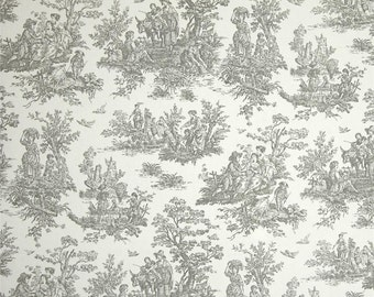 """One  Bolster Cover   50""""L x 10""""D - Toile Grey"""