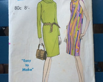 1960's Vogue dress pattern.