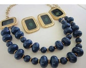40% OFF Trifari Gold tone Earring and Necklace Set