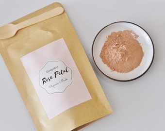 All natural Cleopatra Rose Petal Beauty Mask Bridesmaids gifts & Wedding Favours
