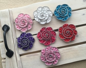 Zipper Flowers---19 Variety Pack--DETASH