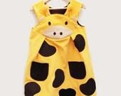 giraffe costume girls dress