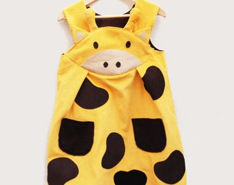 giraffe costume girls dress