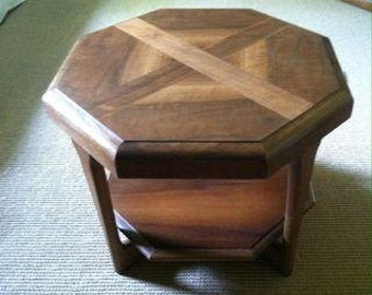 Octagon Side/End Table by Lane
