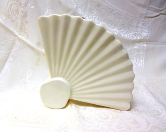 Vintage Art Deco Fan Shaped Vase