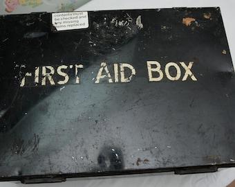 1960s British Rail First Aid Box