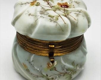 Antique Wavecrest Jewelry or Trinket Box