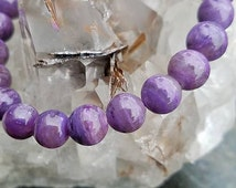 Charoite Bracelet~Crown and the Heart Chakra~Stone of This Age~
