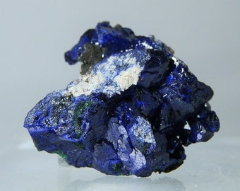 Rich Blue Azurite Crystals Display Collectible Mineral 90 carats Quality Rare Specimen from Milpillas Mexico Closed Mine DanPickedMinerals