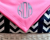 Personalized Stadium Blanket-Monogrammed Stadium Blanket-Sweatshirt Blanket With Monogram-Monogram Blanket-Tailgate Blanket