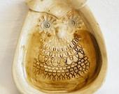 Ceramic wise owl Dish OL2