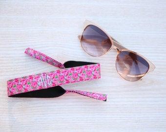 Lilly Inspired Monogram Sunglasses Strap