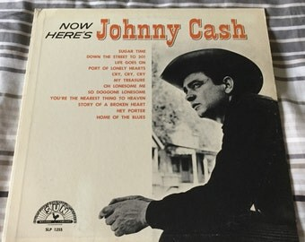 Johnny Cash Now Heres Johnny Cash on Sun Records 1961 after move to Columbia