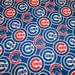 MLB Chicago Cubs 100%Cotton v2 Fabric by the yard