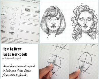 How To Draw Faces WorkBook