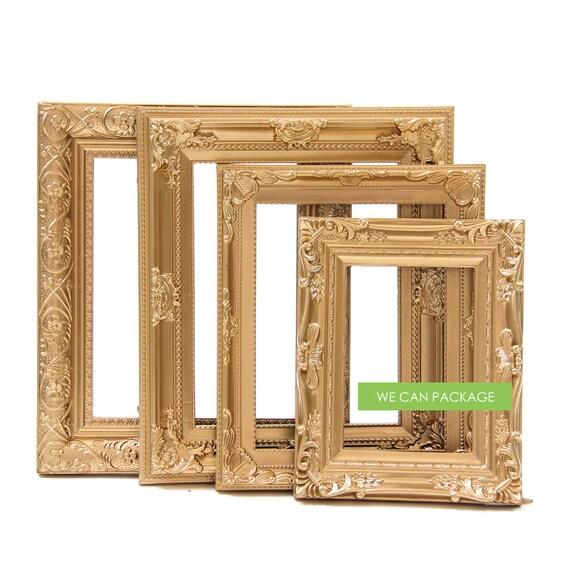 Vintage Picture Frames Gold Wedding Frames Antique Photo
