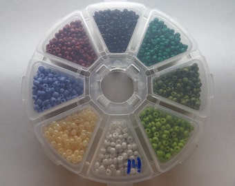 3mm Glass Seed Beads, Variety Pack, Approximately 150g, SB14