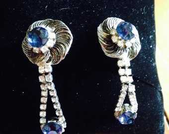 Vintage Earrings from the 50's - Beautiful and Unique!