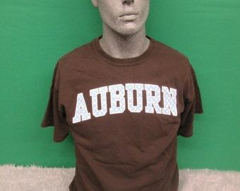 Auburn ladies brown tshirt  #468A