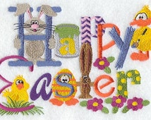 Happy Easter - Fabric - Towels - Totes