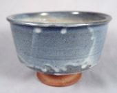 Taeko Tanaka, Vintage Studio Pottery, footed bowl, planter, mingei, MacKenzie student