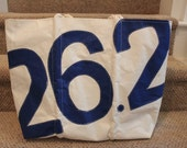 Custom large recycled sail bag