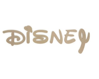 MDF Wooden Letters 6mm thick, Disney Font! Various Sizes