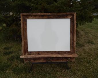 Custom Made Barnwood Framed Message Board