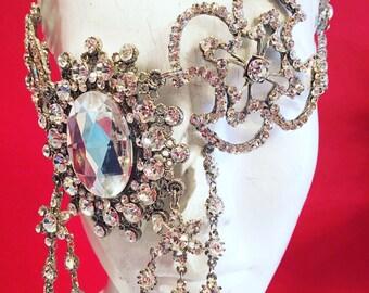 Crystal dream necklace/mask/headdress