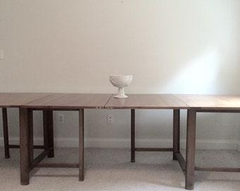 Mid Century Dining Table / Nine Feet Long