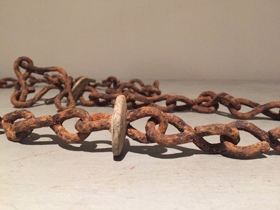 Antique Farm Chain : Antique farm chain by plaire on etsy
