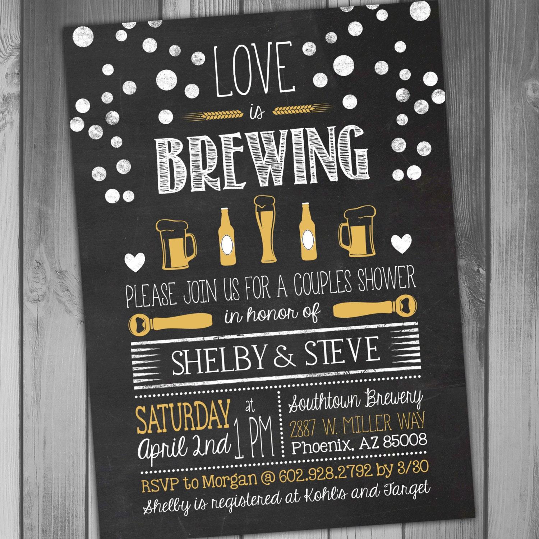 Coed bridal shower – Coed Wedding Shower Invitations