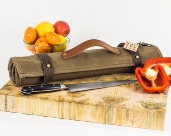 Oui Chef Knife Roll | Field Tan