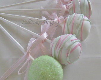 Cake Pops: Baby Shower Cake Pops Made to Order with High Quality Ingredients