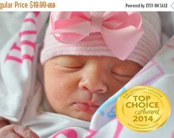 SALE newborn girl, baby girl, newborn hospital hat, newborn hat, newborn hospital hats, newborn girl hat, newborn hats