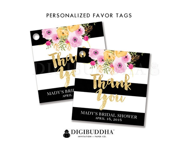 ... Favor Tag Label Tags Gift Tag Party Favor Tag DIY Printable or Printed