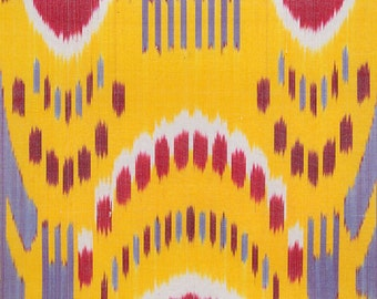 Sale! Ikat Fabric, Ikat Fabric by the yard, Hand Woven Fabric , F-A468