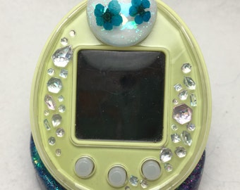 Cute Kawaii Pretty Dried Flowers Tamagotchi P's Decorative Pierce