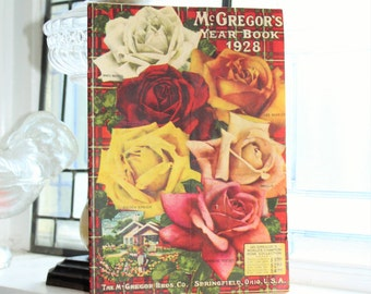 1928 Seed Catalog McGregor's Year Book