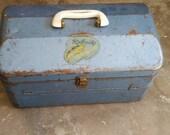 VINTAGE Fishing Tackle/Tool/Craft Box