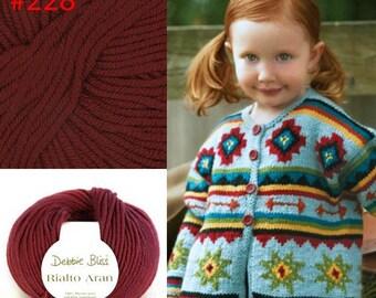 Sale 33% Off  1x50g/1.76oz Rialto Aran yarn by Debbie Bliss