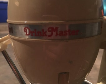 Vintage milkshake maker