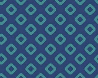 "108"" WIDEBACK - Windham - Modern Widebacks - Blue/Teal Diamond Geometric"