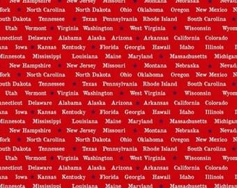 Studio E - American Anthem - States - Red