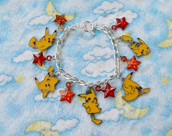 READY TO SHIP, Pikachu Bracelet