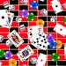 Game Time, Card Fabric, Dice Fabric, Poker Fabric, 01001A