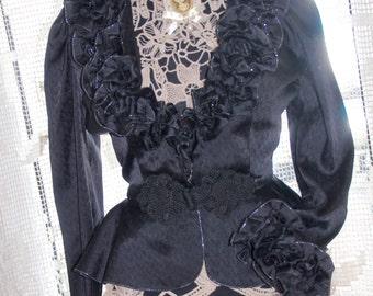 1975 Rare Unique Victorian inspiration Jacket