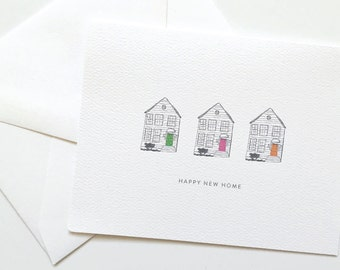 New Home Card, Housewarming Card